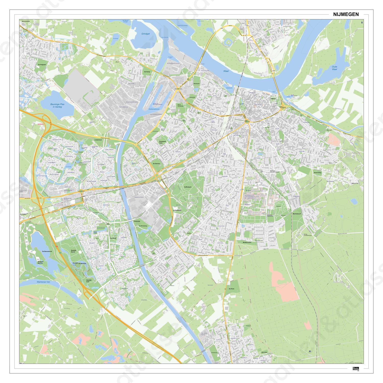 Digitale Kaart Nijmegen 403dg Kaarten En Atlassen Nl