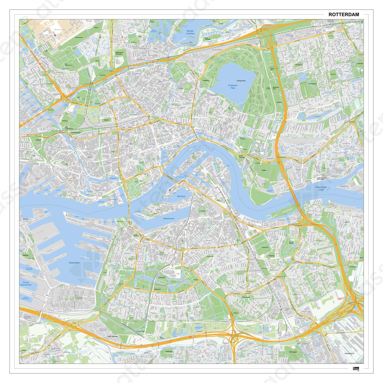 Digitale Kaart Rotterdam 404DG