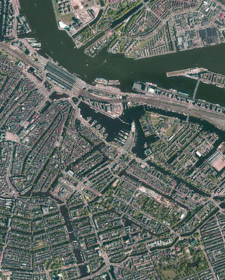 Amsterdam Luchtfoto