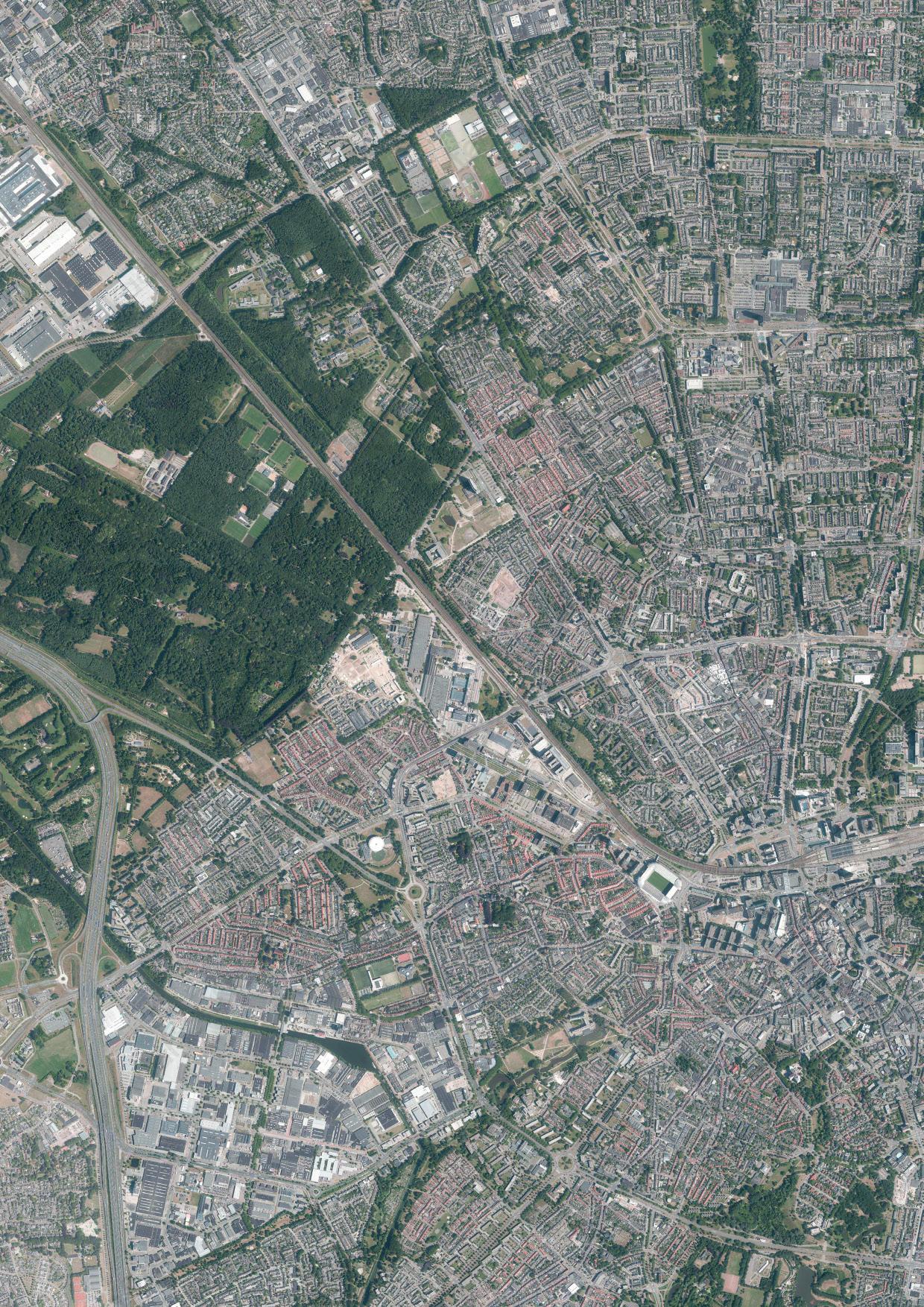 Eindhoven Luchtfoto