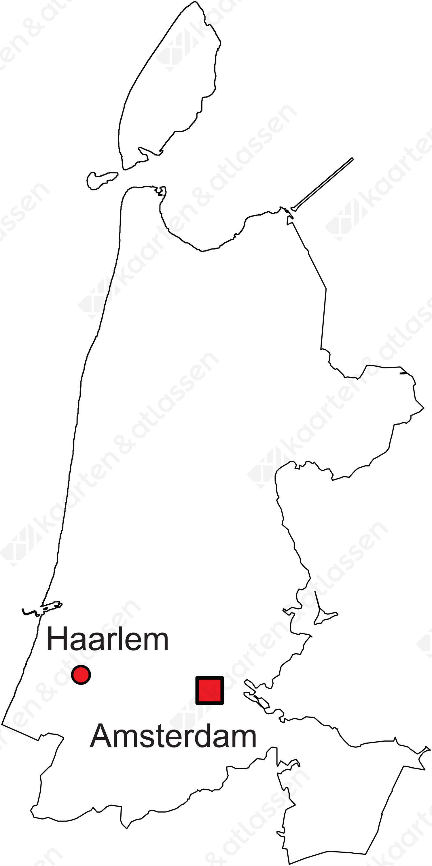 Digitale Provinciekaart Van Noord Holland Gratis Kaarten En