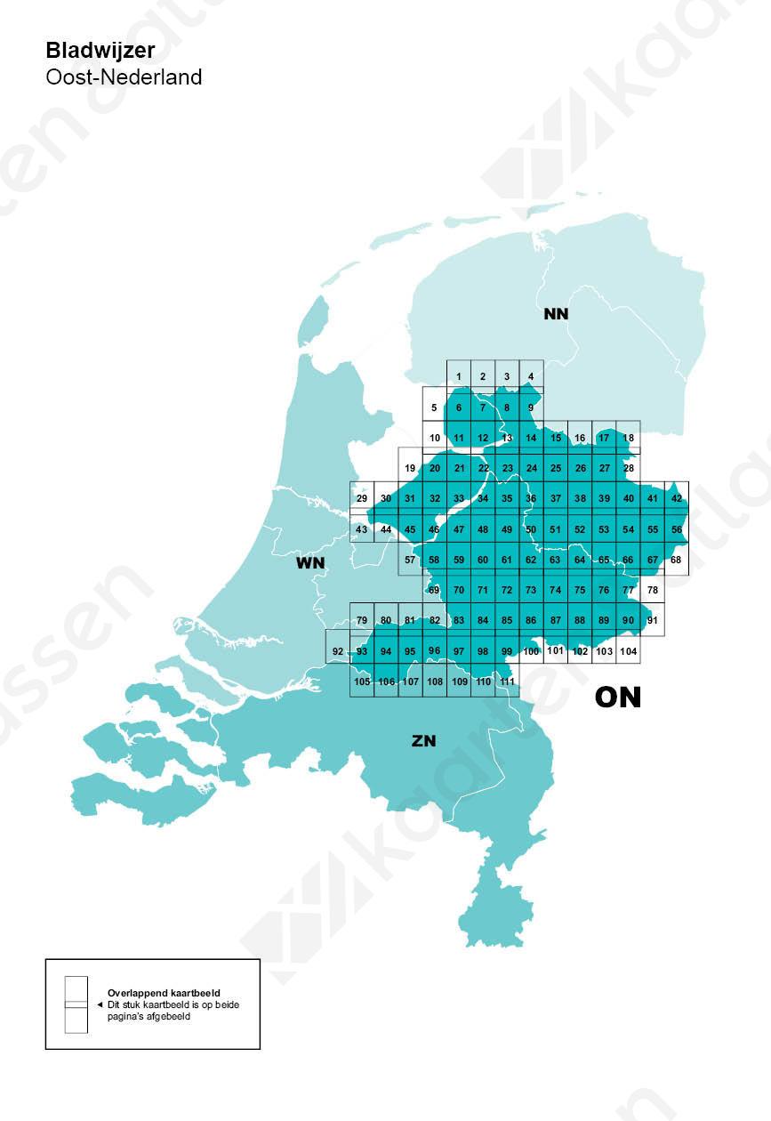 Bladwijzer Atlas Oost-Nederland