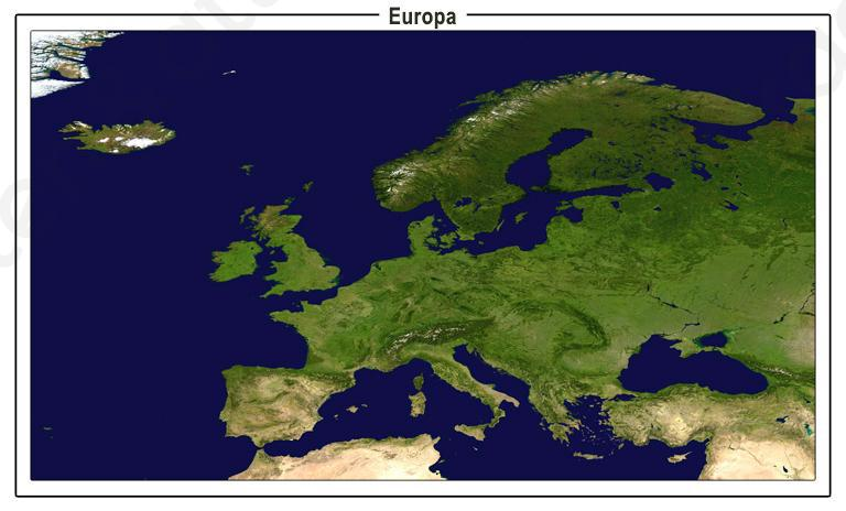 Satellietbeeld Europa 1332