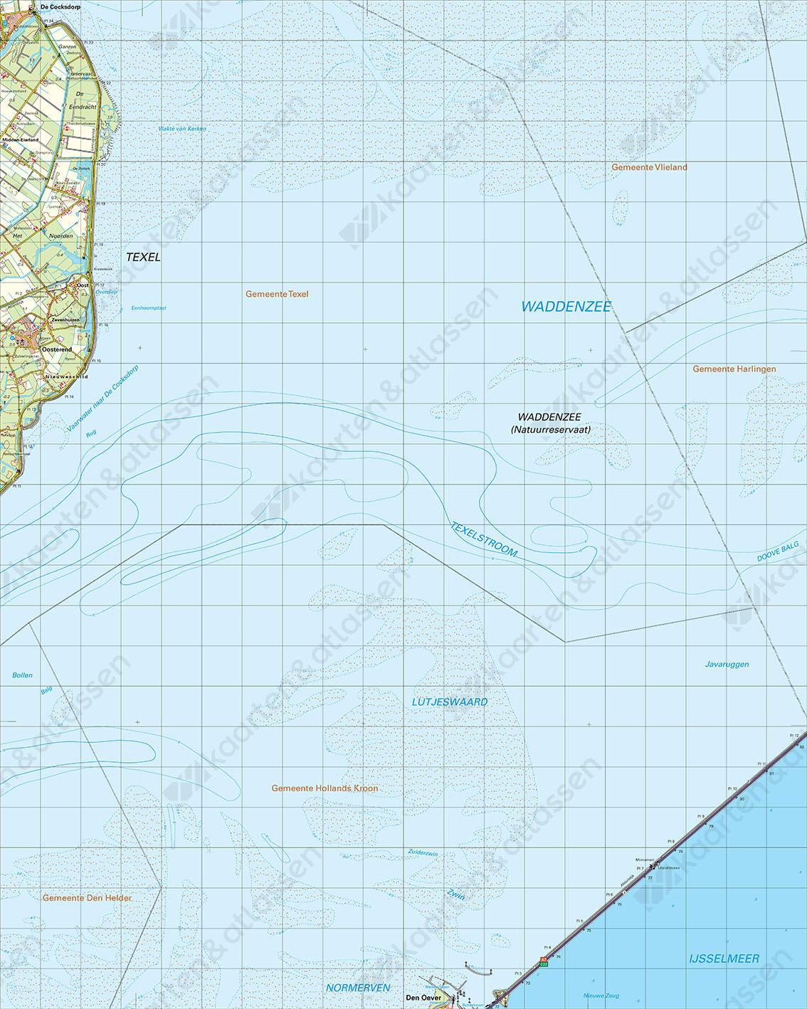 Digitale Topografische Kaart 9 Oost Den Helder