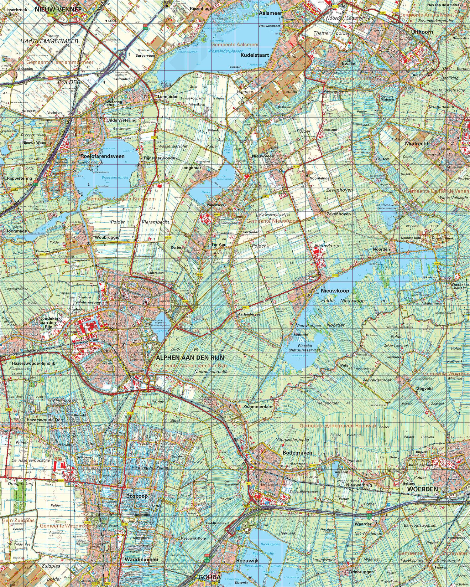 Topografische Kaart 31 West Utrecht