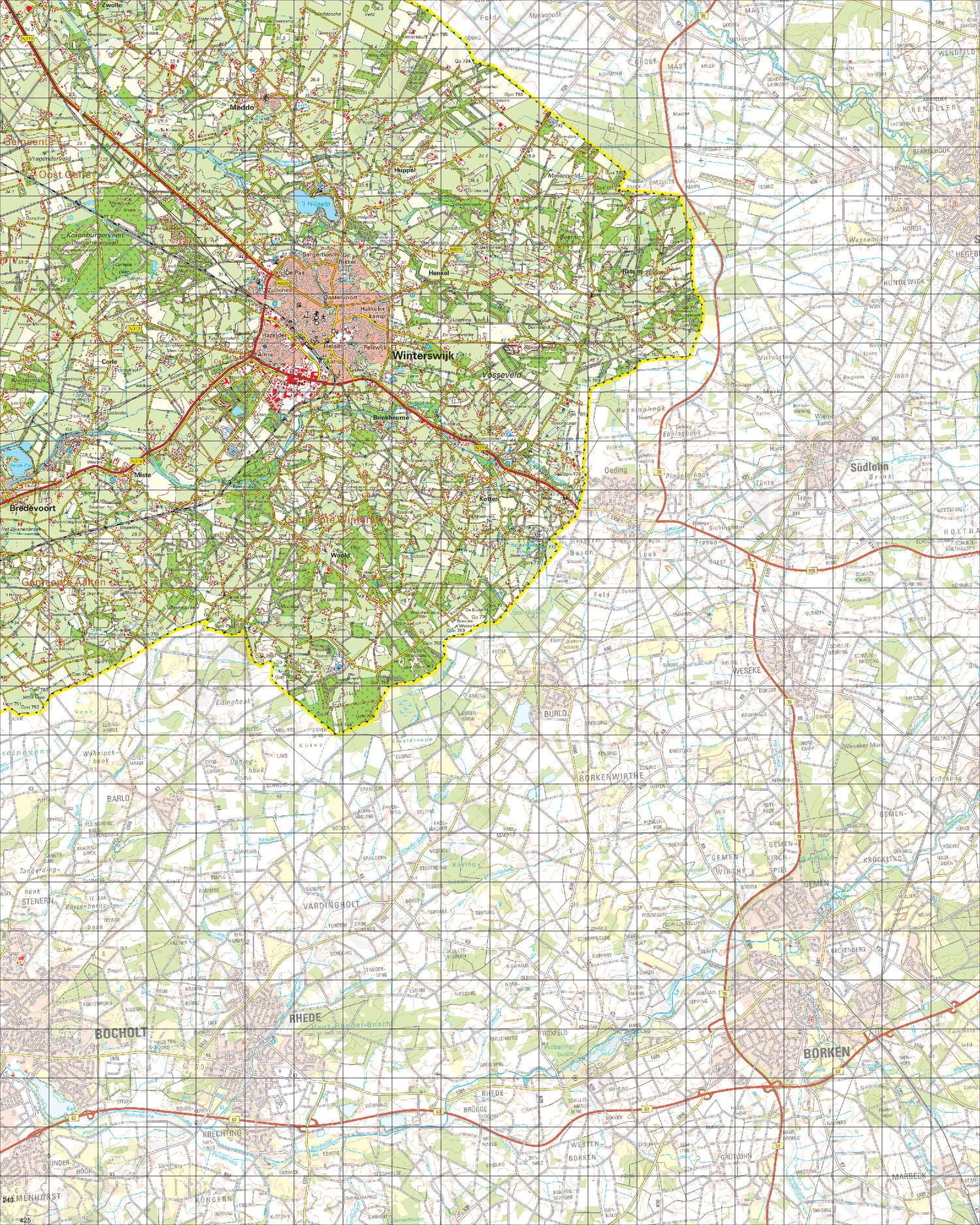 Digitale Topografische Kaart 41 Oost Aalten Kaarten En Atlassen Nl
