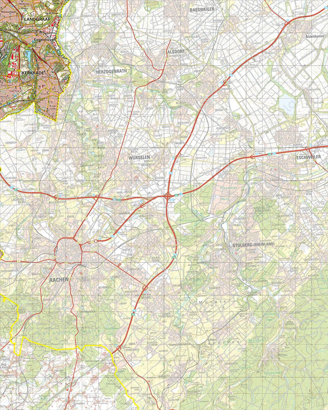 Topografische Kaart 62 Oost Heerlen