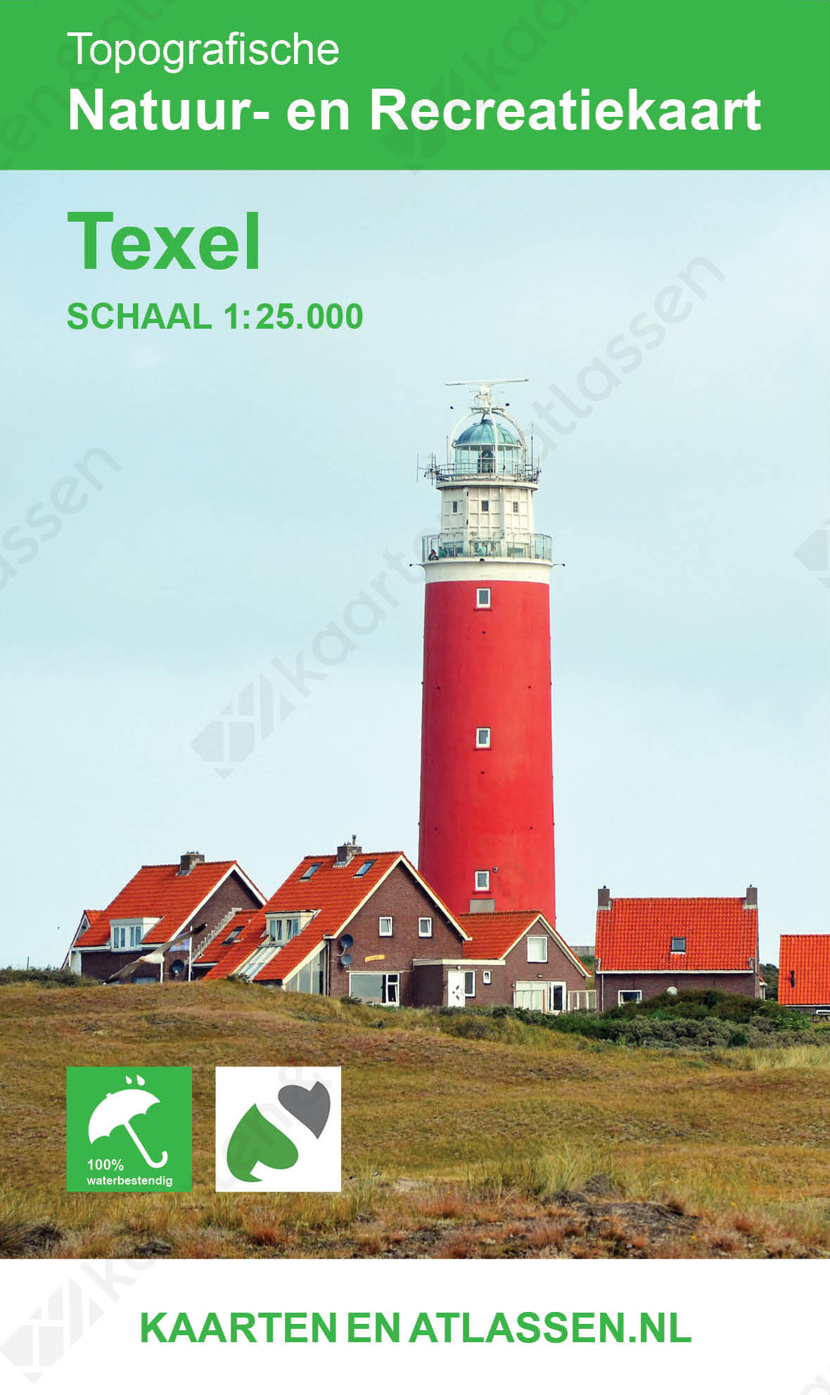 Kaart Texel
