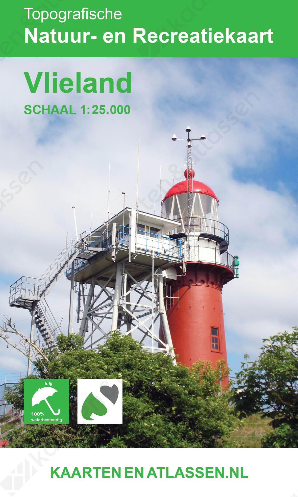 Kaart Vlieland