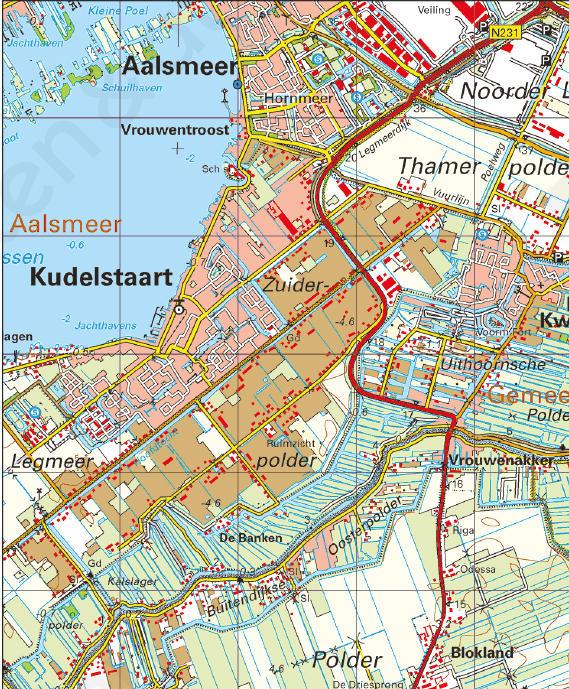 uitsnede kaartblad-Topografische Atlas