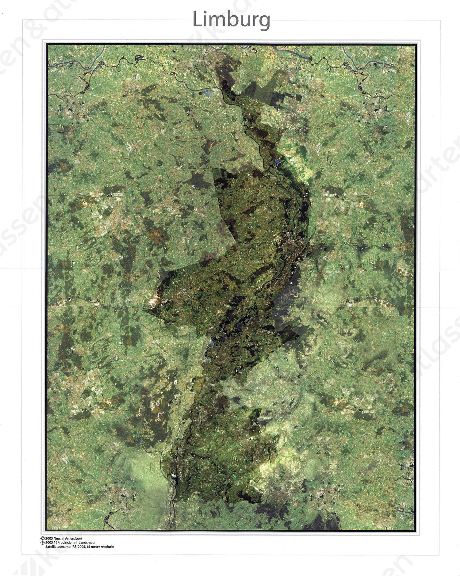 Digitale Satellietkaart Limburg