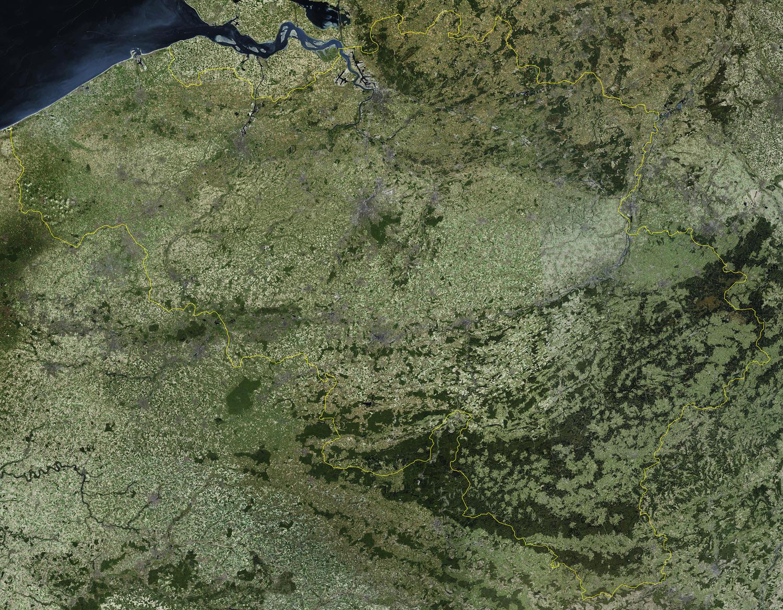 Satellietkaart België 49