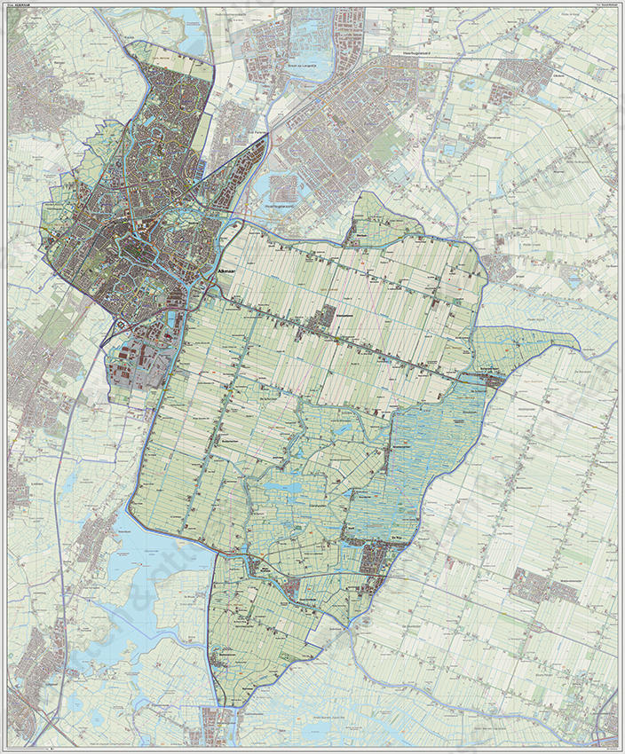 alkmaar kaart Digitale kaart Alkmaar | Kaarten en Atlassen.nl