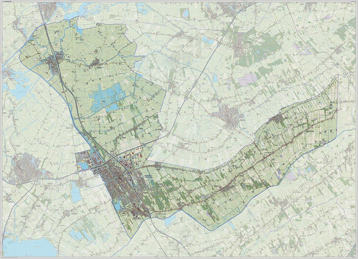 Digitale Kaart Heerenveen Kaarten En Atlassen Nl