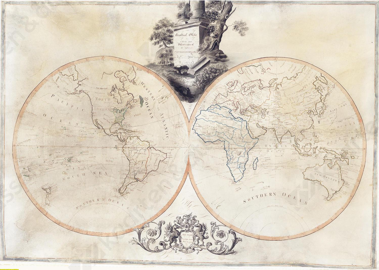 Wereldkaart Arnold