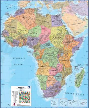 MI Afrika staatkundig