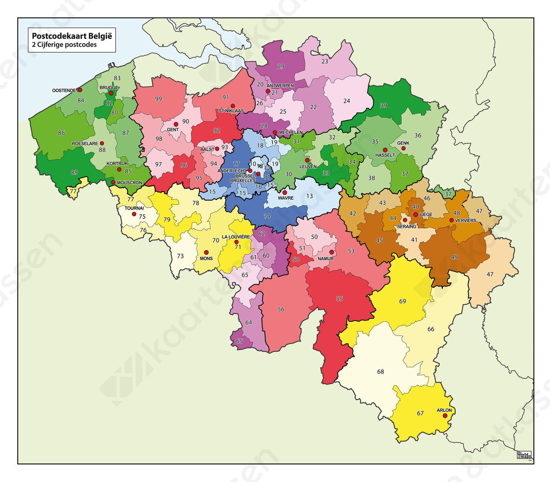 Heloohaloo 25 Inspirerend Belgie Postcode