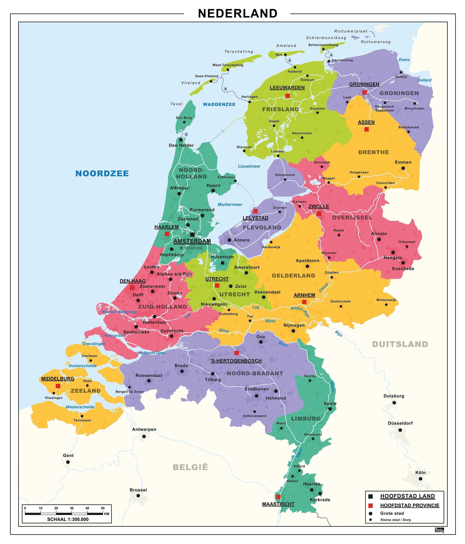 Heloohaloo 25 Vers Kaart Nl Provincies