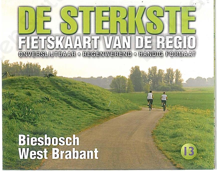 Fietskaart_Biesbosch_Voorkant