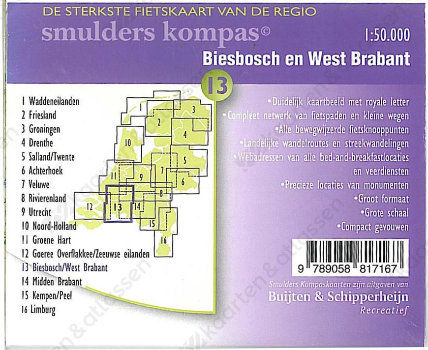Fietskaart_Biesbosch_Achterkant