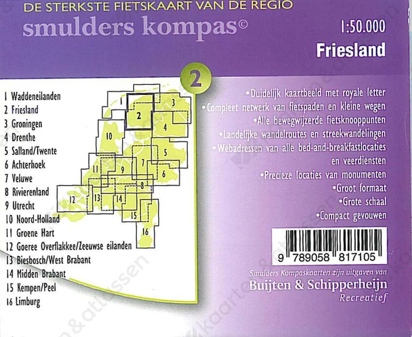 Fietskaart-Friesland-achter