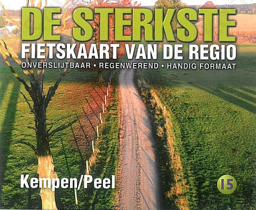 Fietskaart_Kempen_Voorkant
