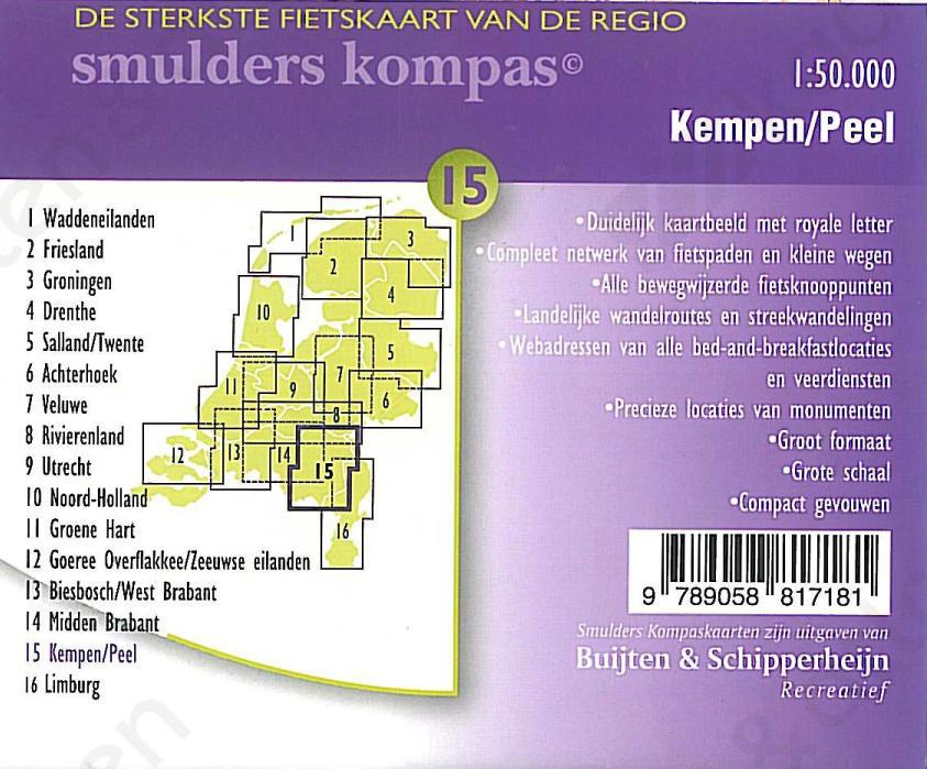 Fietskaart_Kempen_Achterkant