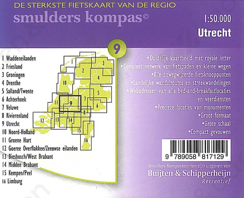 Fietskaart_Utrecht_Achterkant