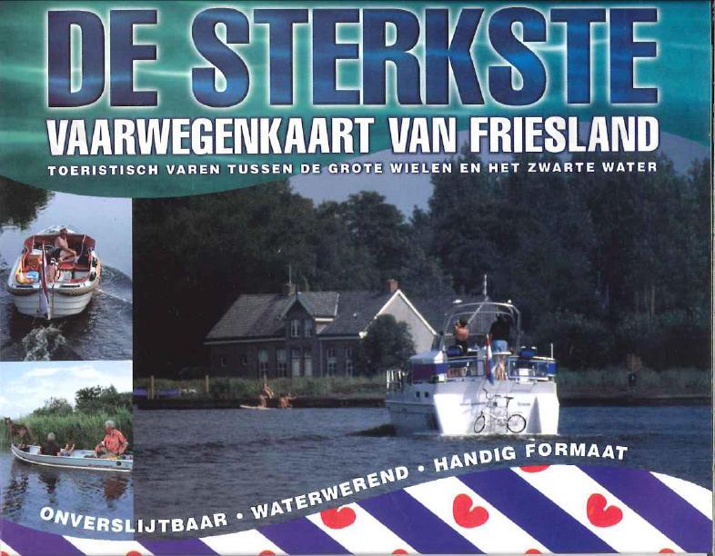 De sterkste vaarwegenkaart van Friesland