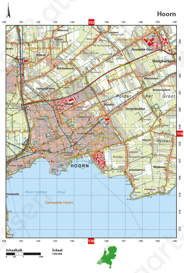 Topografische Atlas West-Nederland