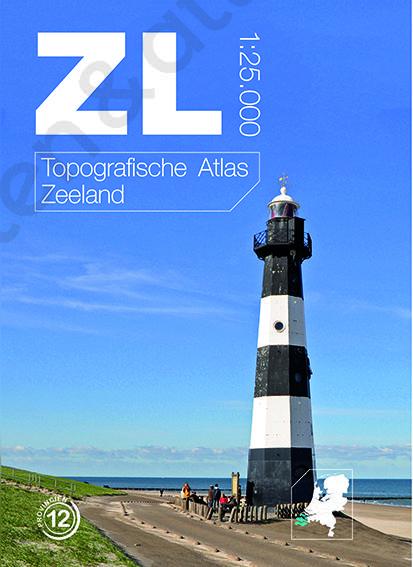 Topografische atlas Zeeland