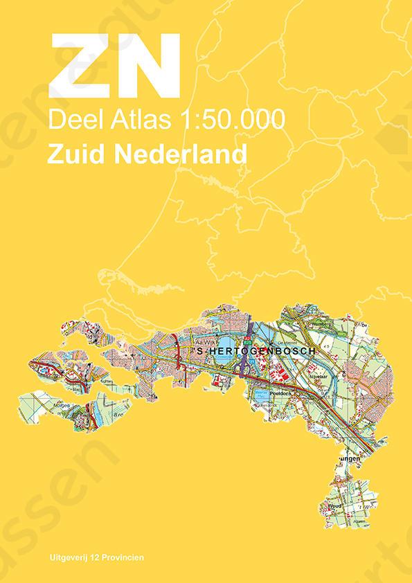 Topografische Atlas Zuid-Nederland
