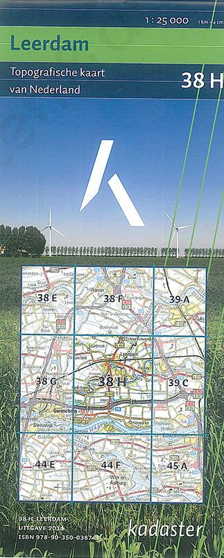 Digitale Topografische Kaart 38H Leerdam
