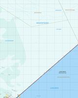 Topografische Kaart 9H Afsluitdijk