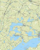 Topografische Kaart 10G Oudega