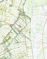 Topografische Kaart 13B Bellingwolde