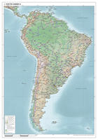 Zuid-Amerika natuurkundig