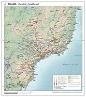 Kaart Brazilië