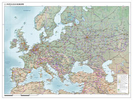 Europa natuurkundige kaart