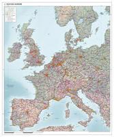 West Europa kaart