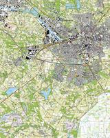 Topografische Kaart 34F Enschede