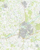 Topografische Kaart 61F Maastricht
