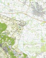 Digitale Topografische Kaart 46G Nieuw-Bergen