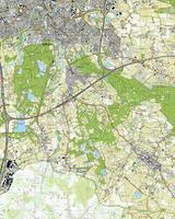 Digitale Topografische Kaart 50B Ulvenhout