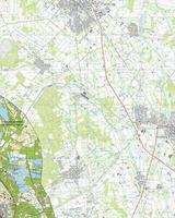 Digitale Topografische Kaart 52F Bad Arcen