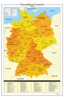 Duitsland 2-cijferige postcodekaart 814