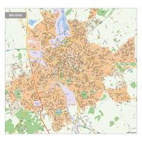 Kaart Brugge