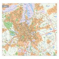 Kaart Gent