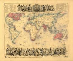Wereldkaart Bartholomew