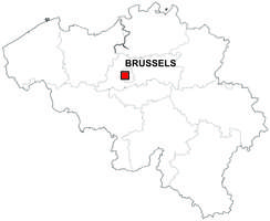 Gratis België digitale kaart